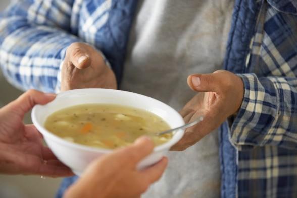 serve soup