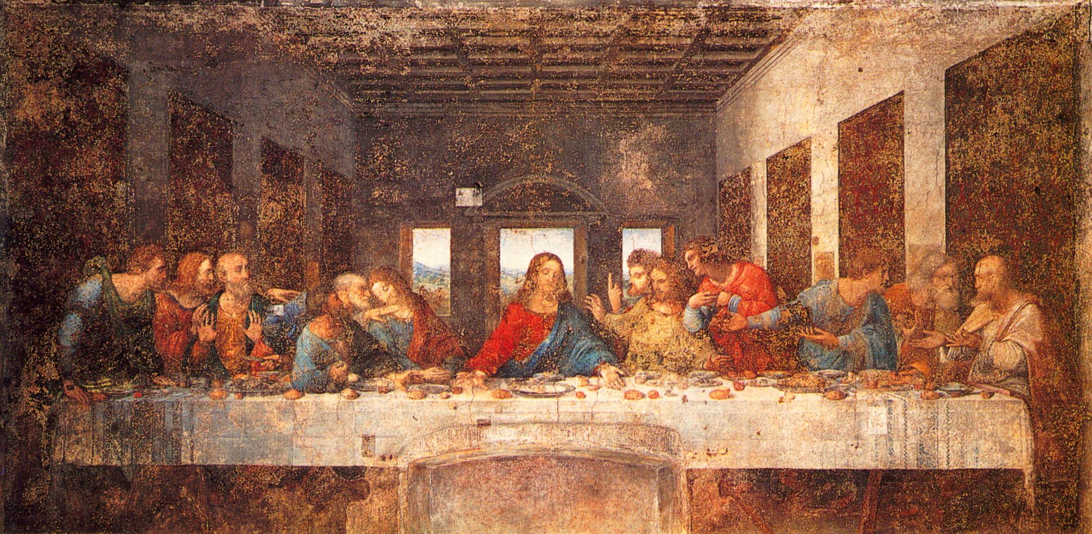 A Meditation for Maundy Thursday | JasonWiedel.com Da Vinci Last Supper Original