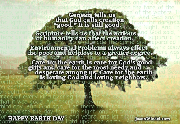 Earth Day Christian